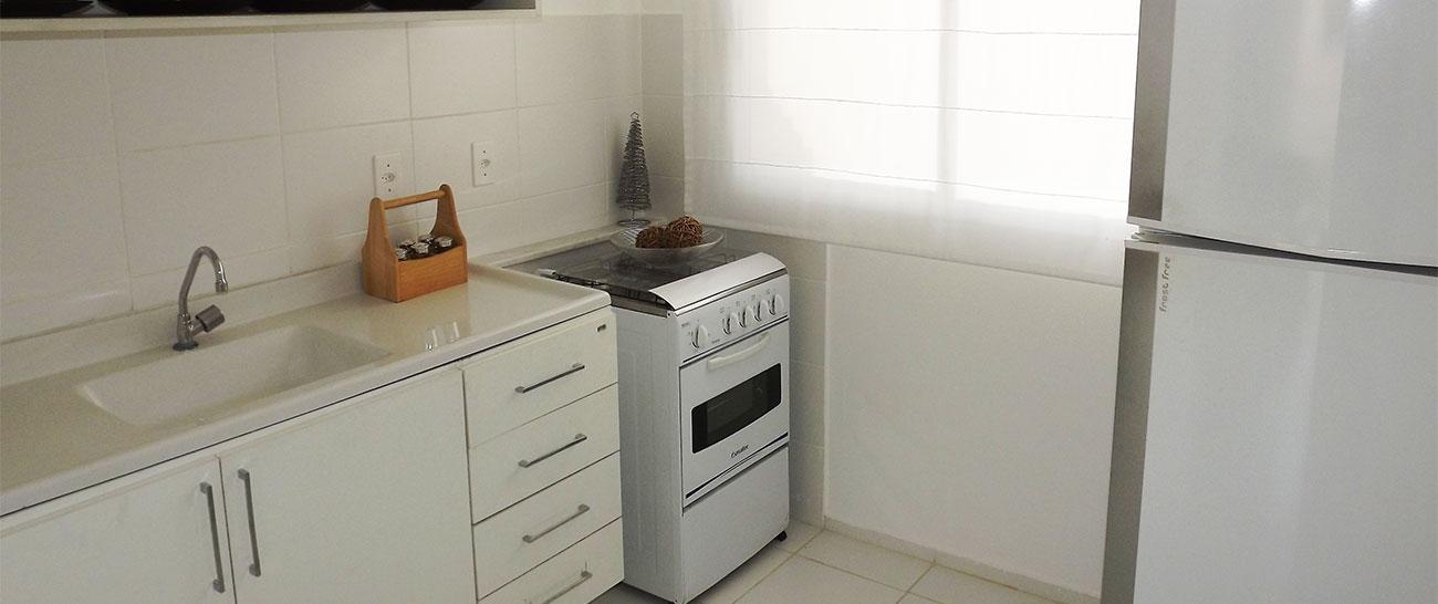 Cozinha - Casa Decorada.
