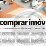 """Jornal Meia Hora - Caderno Imóveis: """"Vai Comprar Imóvel?"""""""
