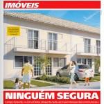 """Jornal Meia Hora Capa - Imóveis: """"Ninguém Segura"""""""