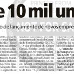 """Jornal Meia Hora - Caderno Imóveis: """"Mais de 10 mil unidades"""""""