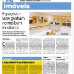 """Jornal O Dia - Imóveis: """"Lançamento na Freguesia"""""""